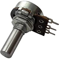 AERZETIX: 2x Potenciómetro rotativo mono lineal 22kΩ 100mW