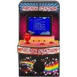 gaeruite 883 Classic Retro Mini Handheld Arcade Game Console, 240 Juegos incorporados Mini 2.5 Arcade Machine para niños