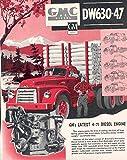 1952 GMC DW630-47 4-71 Diesel Logging Truck Brochure