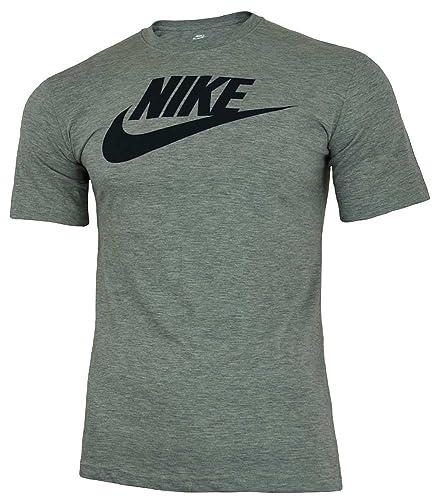 a81eb5b38c15 Nike Futura Tee Men s Sport Slim Fit Fitness Cotton Shirt T-Shirt Gray