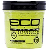 Eco Styler Black Castor & Flaxseed Oil Gel 470ml