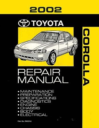 amazon com bishko automotive literature 2002 toyota corolla  2004 toyota corolla oem parts diagram wiring schematic #6