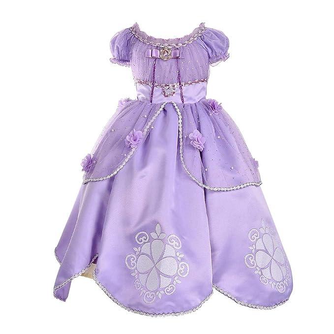 Amazon.com: SMITH SURSEE - Disfraz de princesa Sofía para ...