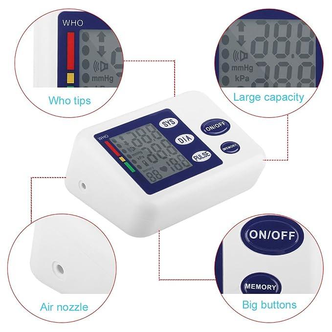Medidor de presión sanguínea automático digital del brazo ...