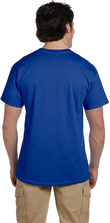 Hanes Herren T-Shirt ComfortBlend Short Sleeve 3er Pack Deep Royal