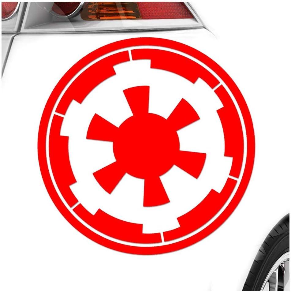 Kiwistar Galaktisches Imperium 10 X 10 Cm In 15 Farben Neon Chrom Sticker Aufkleber Auto