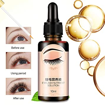 46ed503d321 Amazon.com: Anself Natural Eyelash Growth Serum Eyelash Enhancer Treatments  Liquid Eye Lash Longer Thicker Eyebrow Makeup 10ml: Beauty