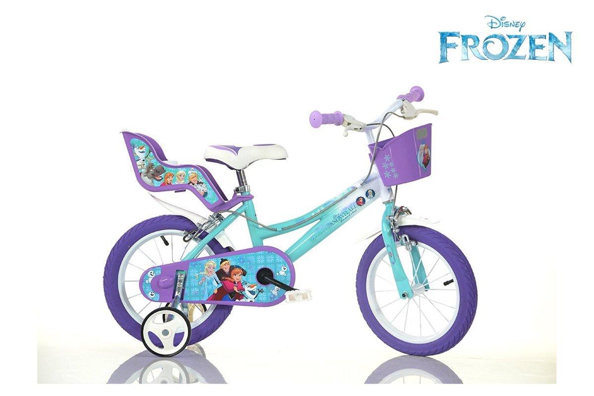 Promoción por tiempo limitado Ciclos Puzone bicicleta 14 Frozen Dino Bikes Art. 146 r-fz2