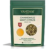 Chamomile Mint Green Tea Loose Leaf (100 Cups) | Refreshing & Energizing Mint Tea | Green Tea Leaves, Chamomile…