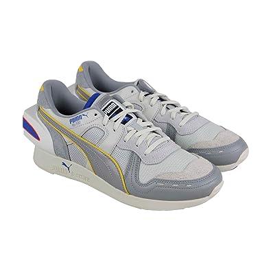 078f97b411533 Amazon.com | PUMA RS-100 Ader Error Mens Gray Textile/Leather ...