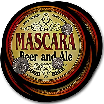 Mascara Beer & Ale - 4 pack Drink Coasters