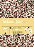 Indian Patterns, Volume 52 : 12 grandes feuilles de papiers cadeaux & créatifs de haute qualité