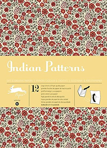 Indian Patterns: Gift & Creative Paper Book Vol. 52 (Gift wrapping paper book (52))