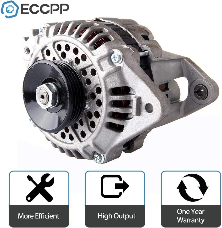Alternator ECCPP for 2.0 2.0L Dodge Mitsubishi Plymouth 13289 Hyundai Eagle