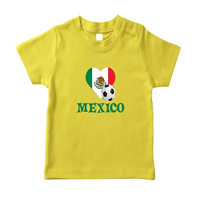 Image Unavailable. Image not available for. Color  Cute Rascals Mexican  Soccer Mexico Futbol Football Cotton Short Sleeve ... 59b4ca766
