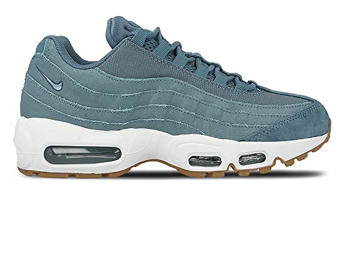 c3815be45e3d4 Nike Womens Air Max 95 Premium Smokey Blue Trainers Size 4 UK: Amazon.co.uk:  Shoes & Bags