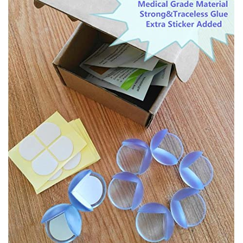 8 Pack Clear Table Corner Protectors for Baby