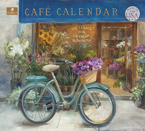 Legacy Publishing Group 2016 Wall Calendar, Cafe (WCA21023)