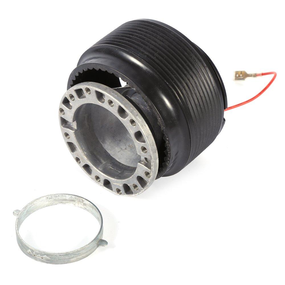 Keenso Auto Car Steering Wheel Racing Quick Release Hub Adapter Boss Kit 6 Hole Steering Wheel Hub Adapter