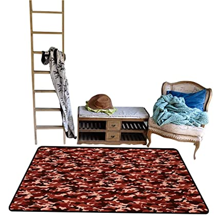 Amazon.com : Dining Room Bedroom Carpet Camouflage, Uniform ...