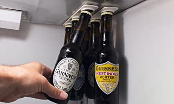 Kühlschrank Organizer Flaschen : Vinsani magnetisch bier flaschen getränkehalter u aufhänger für