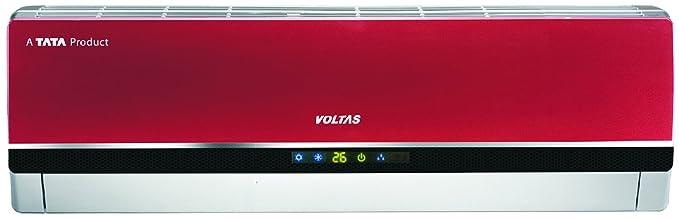 Voltas 1.5 Ton 3 Star (2018) Split AC (Copper, 183 PZY-R, Red)