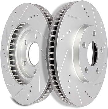 Front And Rear Discs Brake Rotor Ceramic Pads FITS 1997-2002 Cadillac Eldorado