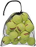 Tourna Mesh Carry Bag of 18 Tennis Balls (Pack of 3.)