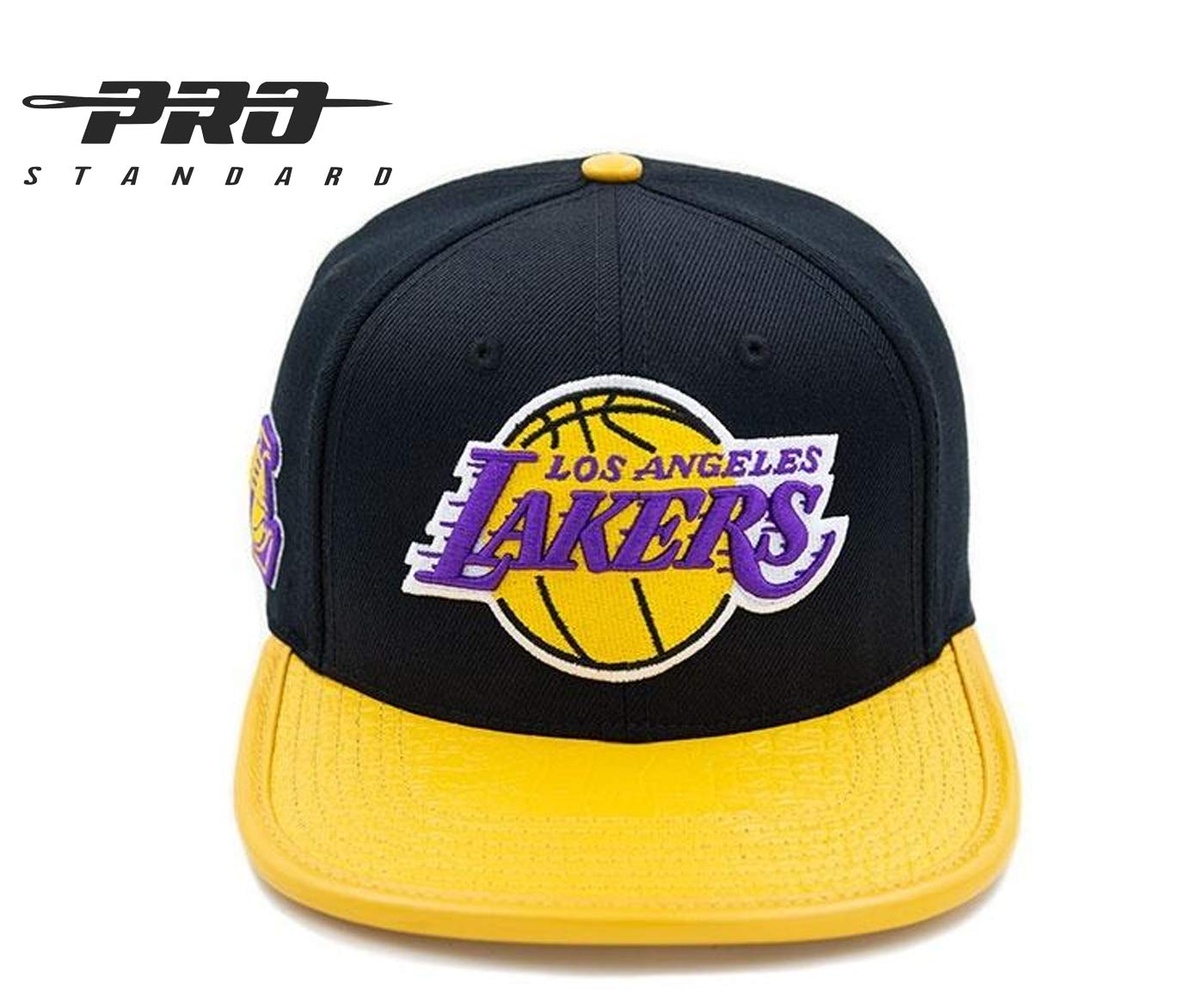Pro Standard Los Angeles Lakers - Gorra de Piel auténtica con ...