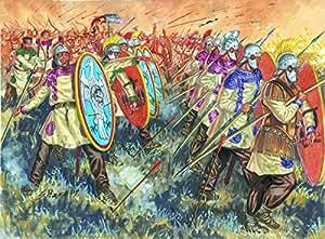 Italeri 6137S Late Imperial Legion - Figuras de soldados romanos en miniatura (escala 1:72)