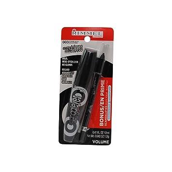 b2e4a0124a8 Amazon.com : Rimmel Scandal Eyes Retro Glam Mascara #003 Extreme Black :  Beauty