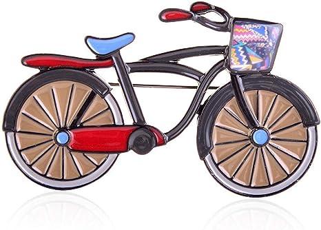 Amarillo Esmalte Bicicleta Moda Joyería Aleación Vehículo Niños ...