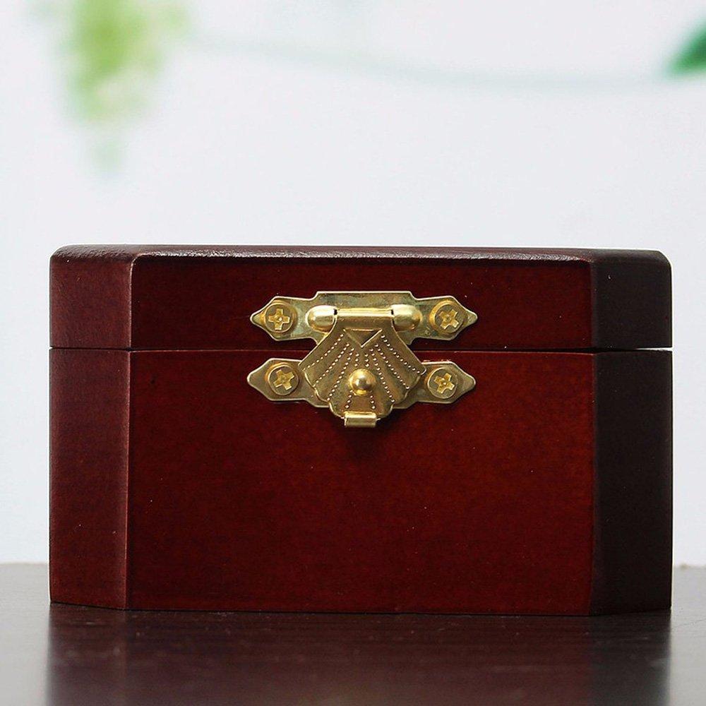 FnLy Caja Musical de Madera con Grabado Antiguo de 18 Notas Caja Musical con tem/ática de Juego de Tronos Caja de Regalo de m/úsica Octogonal