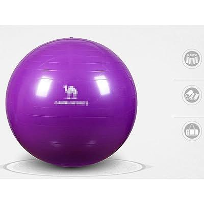 / Exercise / Yoga / Balle De Stabilité Avec Des Bandes Et Une Pompe De Résistance De Qualité De Gymnase Résistante - Améliore L'équilibre, La Force De Base, Le Mal De Dos / La Posture