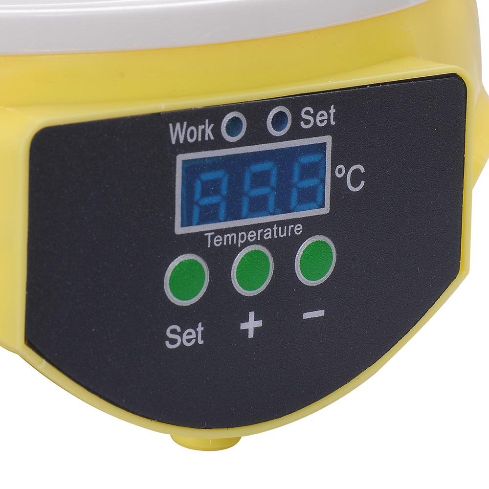 ReaseJoy Digital 7 Eggs Incubator Chicken Poultry Hatcher CE Certificated by ReaseJoy (Image #5)