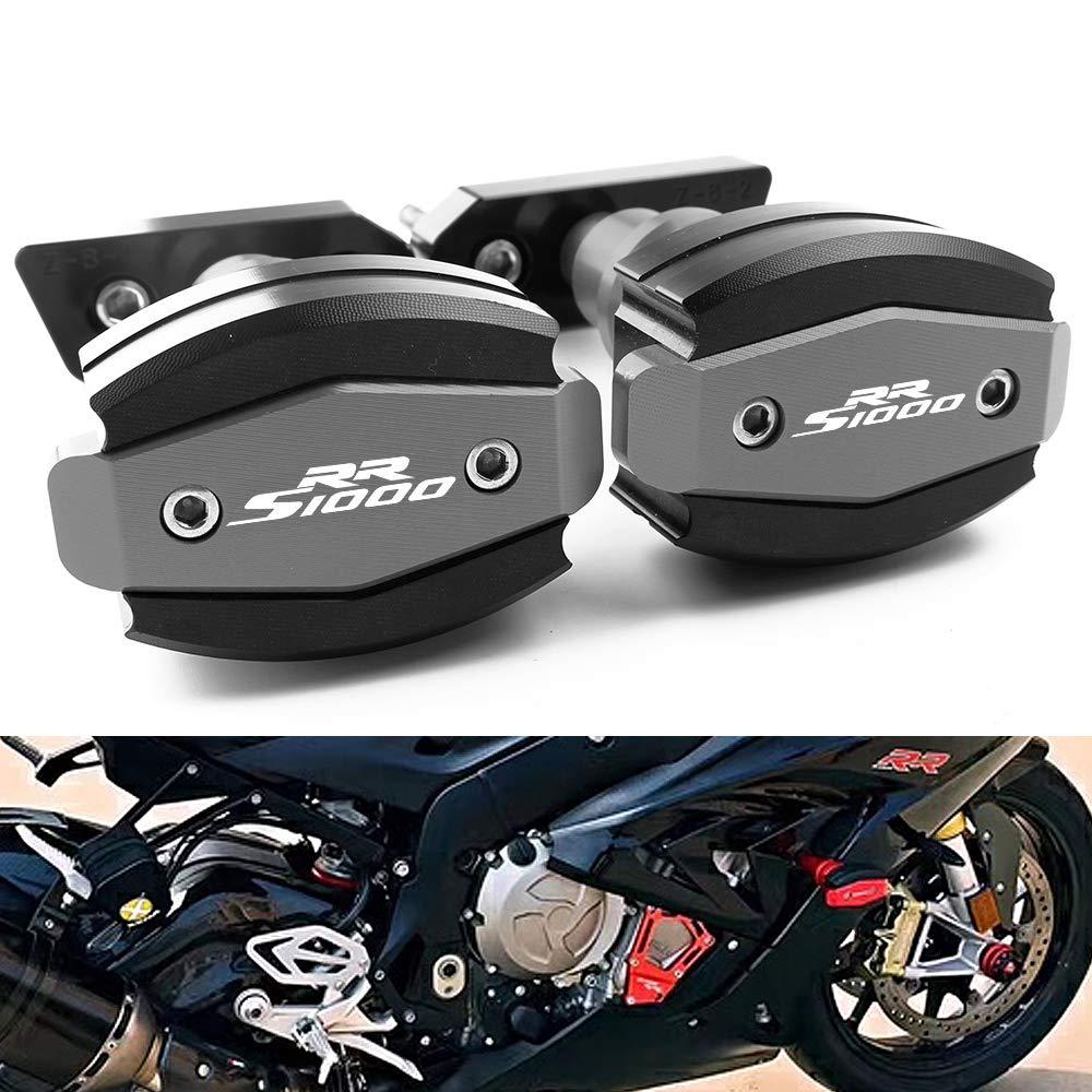 Motocicleta del Marco Deslizadores Protectores Motor Topes Anticaidas Frame Sliders CNC Aluminio Para S1000RR 2010-2019