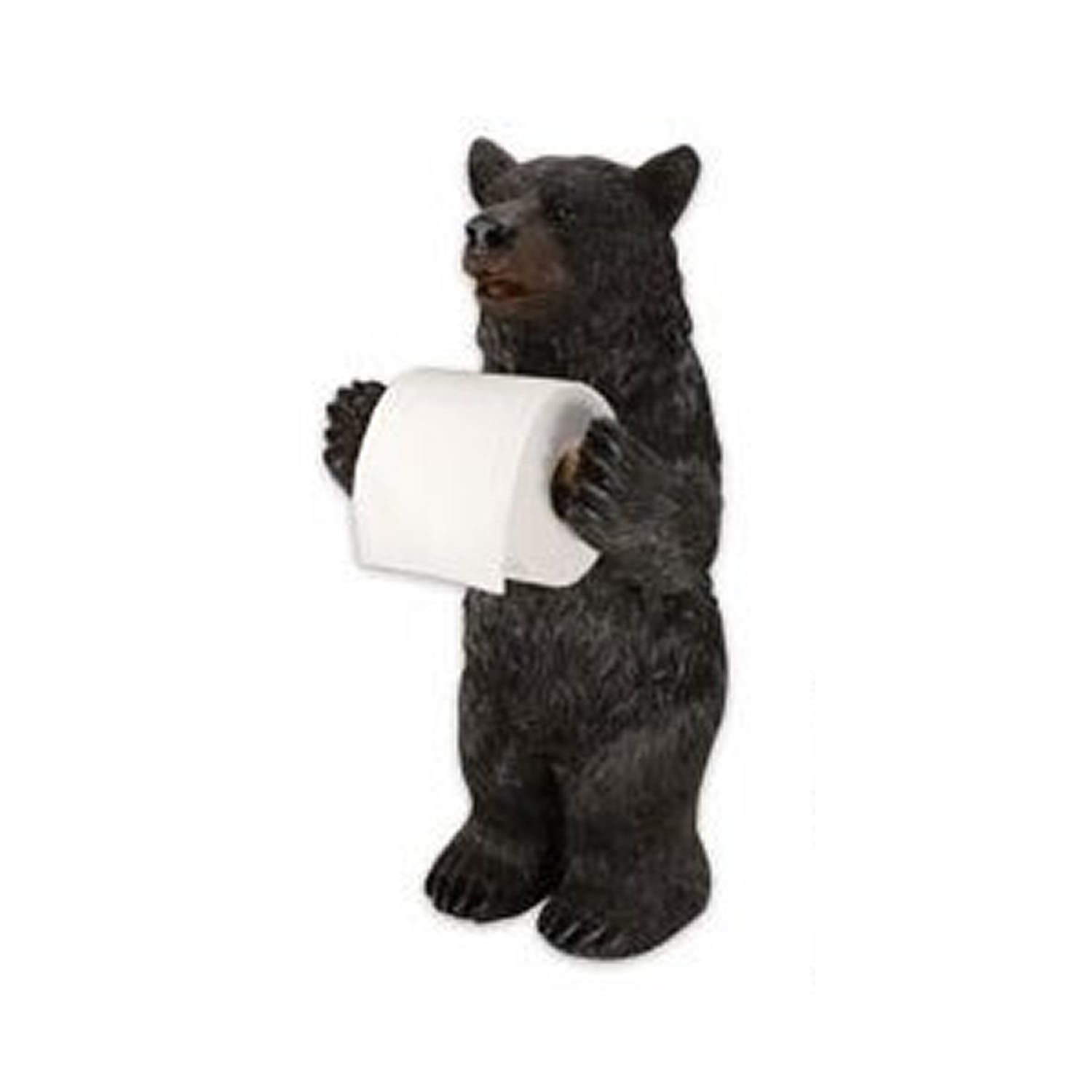Amazon Com Rivers Edge Products Standing Bear Toilet Paper Holder Sports Outdoors