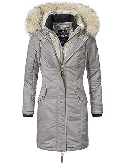 Navahoo Damen Winter Mantel Steppmantel Paula (vegan hergestellt) 11 ... 41f1c8d95d