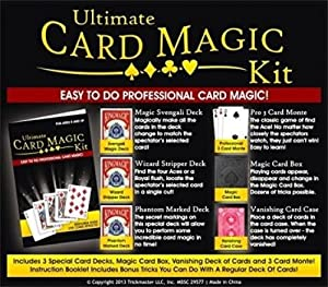 Ultimate Easy Card Magic Kit Set for Ages 8 and Up