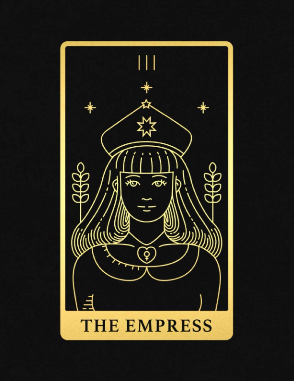 Empress Tarot Card-Empress NeedleMinder-Reversible Needleminder-Witchy Needle minder-Tarot Needleminder-Cross Stitch-Needlepoint-Embroidery