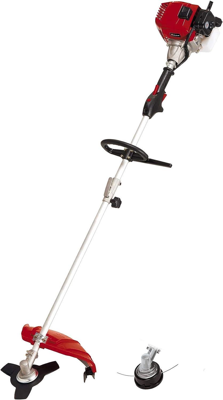 Einhell Desbrozadora de arranque GC-BC 43 AS (1,25 kW, ancho de corte 42 cm, doble hilo, ancho de corte 25,5 cm, hoja de 3 dientes, cabezal automático a presión, sistema Quick Start)