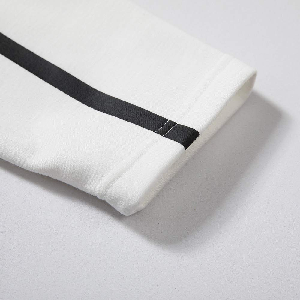 Los Hombres de otoño Invierno Impreso Sudadera Pantalones Superiores ... b7675e94325