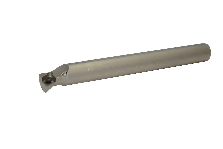 Glanze 800038 5//8 Steel Boring Bar Coolant Through A10M SDUCR3 DCMT 32.5 Nickel Finish