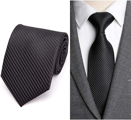 NSLDQ Corbata Corbatas Formales Negocio Boda de los Hombres ...