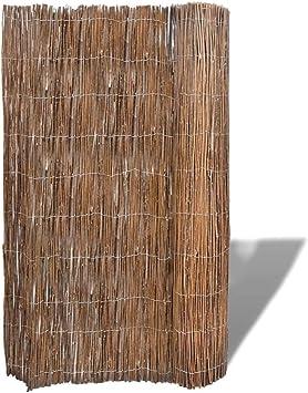 Binzhoueushopping - Valla para jardín (300 x 100 cm), diseño de ramas de sauce: Amazon.es: Bricolaje y herramientas