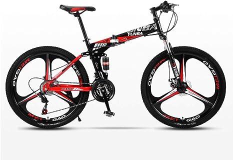 DSAQAO Bicicletas MTB De Suspensión Completa,Bicicleta De ...