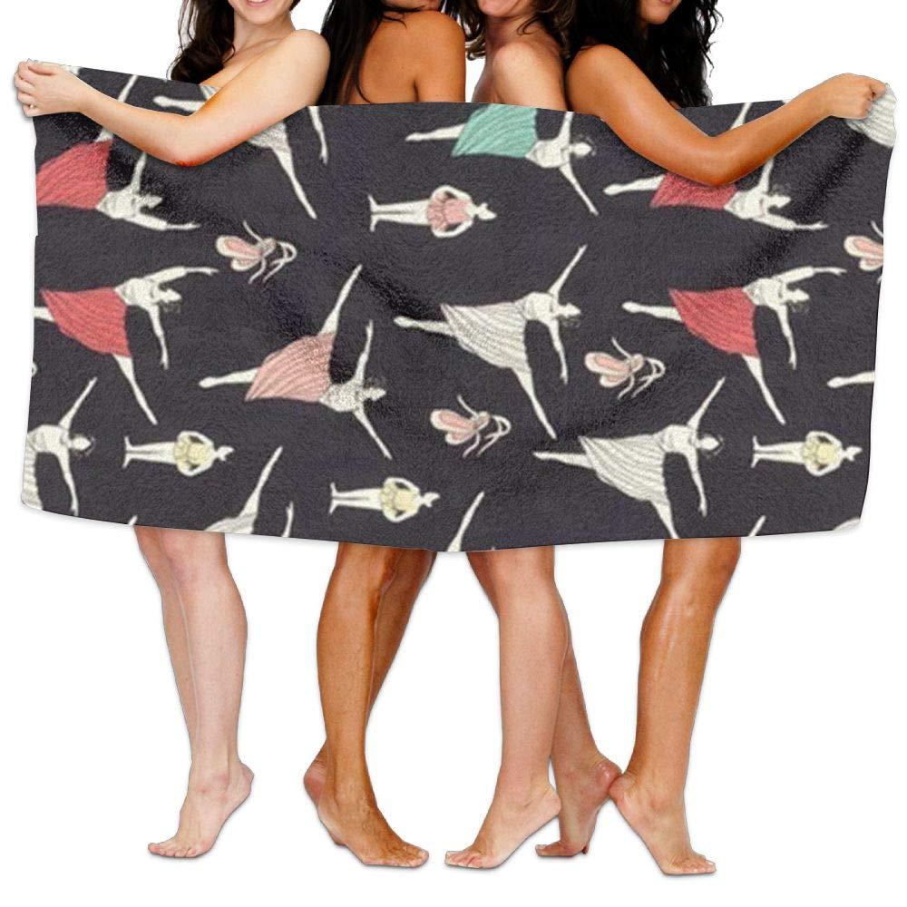 Ghgbm Premium Piece Towel Dance Pattern Vector 100% Polyester Velvet for Household