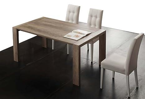 Emporio3 Tavolo da Cucina allungabile in Legno Cucco - SG1606, 140 x ...