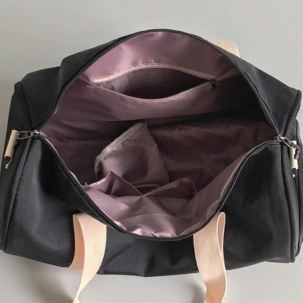 Leichte Reise Duffle Bag Sporttasche gro/ße Kapazit/äts-Handtasche Yoga Fitness Crossbody-Tasche Umh/ängetasche mit Schuhen Fach for Frauen 24 44 Xihou Sporttasche 22cm Du verdienst es zu haben