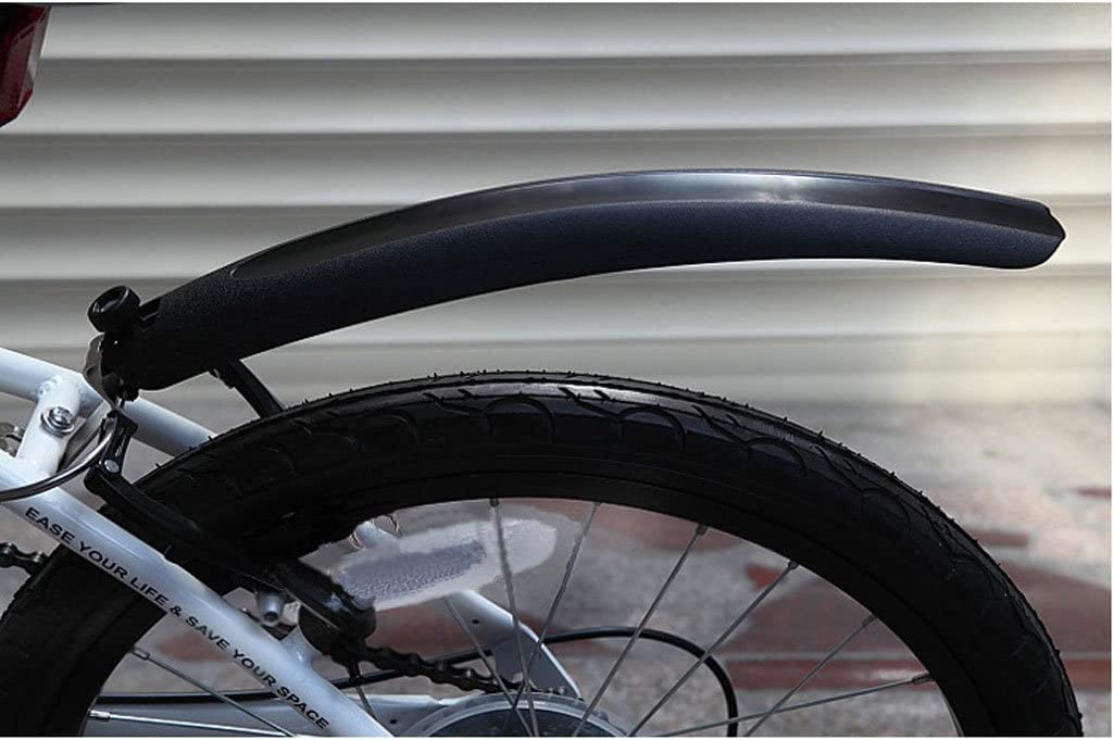 Black MagiDeal 14//16//20 Front /& Rear Mountain Road Bike//Bicycle Fenders Mudguards Set